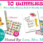 10 WINNERS! Ronica Baby Memory Book & Sticker Set Bundle Giveaway! $595 TRV