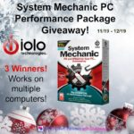3 Winners - System Mechanic PC Performance Package Giveaway