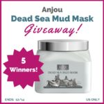 Anjou Dead Sea Mud Mask Giveaway