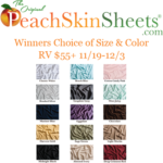 Get the Guest Room Ready for the Holidays with PeachSkinSheets