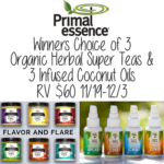 Infuse Your Thanksgiving Dinner with Primal Essence + Giveaway