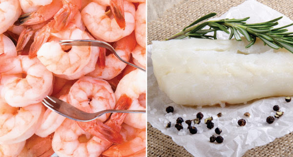 12% Off Wild Alaskan Cod Fillets and Wild Argentine Red Shrimp