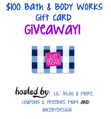 $100 Bath and Body Works Giveaway Event