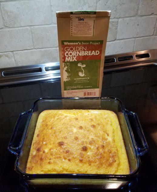 Women's Bean Project Golden Cornbread Mix