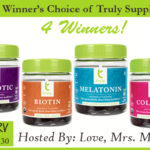 4 Winners - A 30-Day Supply of Their Choice of Truly Supplement