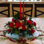 Teleflora's Sparkling Star Centerpiece is Great for the Christmas Dinner Table