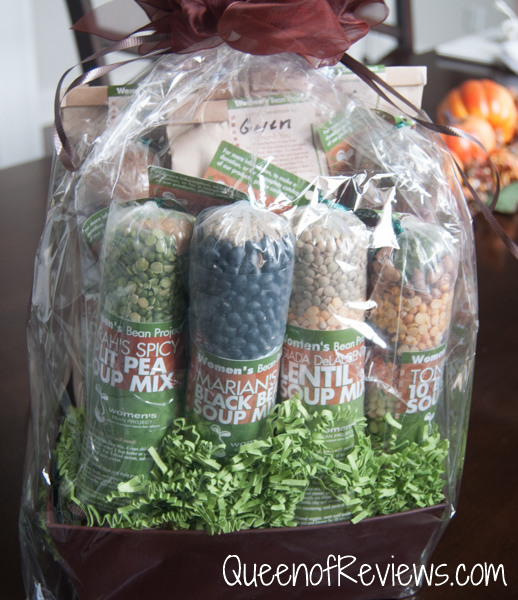 Women's Bean Project Large Gourmet Gift Basket