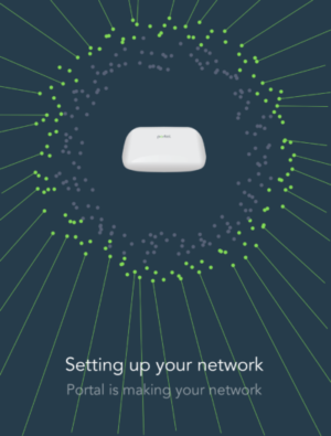 PORTAL configuring network
