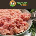 Zaycon 90/10 Ground Turkey Only $1.93lb.