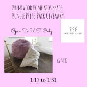 Brentwood Home Kids Space Bundle Giveaway