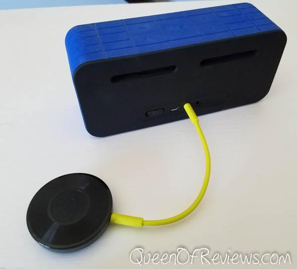 Google Chromecast Audio with Bluetooth Speaker