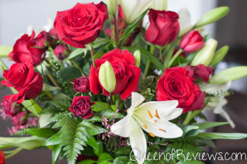Love's Passion Bouquet by Teleflora Closeup