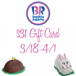 Easter Ice Cream Cakes from Baskin-Robbins + Giveaway