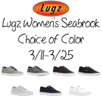 Lugz Women's Seabrook Shoes + Giveaway