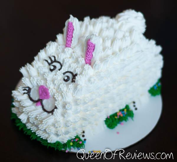 Fluffy Bunny Ice Cream Cake