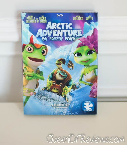 Arctic Adventure On Frozen Pond Now Available on DVD, Digital HD, and On Demand