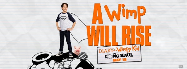 $25 Visa Gift Card & The Hardcover book, Diary of a Wimpy Kid: The Long Haul