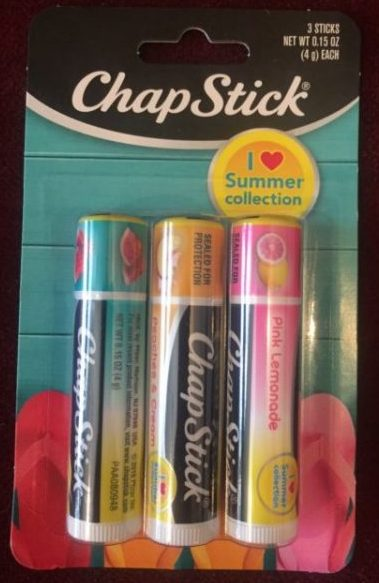 ChapStick Summer Collection