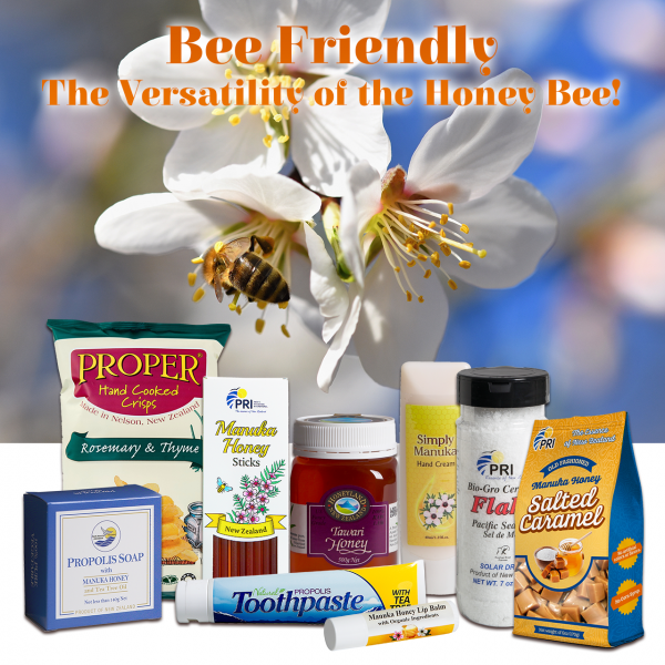 Pacific Resources International - Bee Friendly – The Versatility of the Honey Bee!
