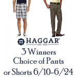 Dad Will Love Pants & Shorts from Haggar + Giveaway
