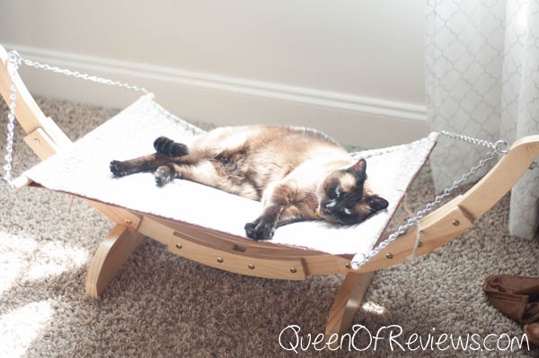 Luxury Cat Hammock Mocha 2