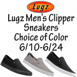 Lugz Men's Clipper Sneakers – A Great Gift for Dad + Giveaway