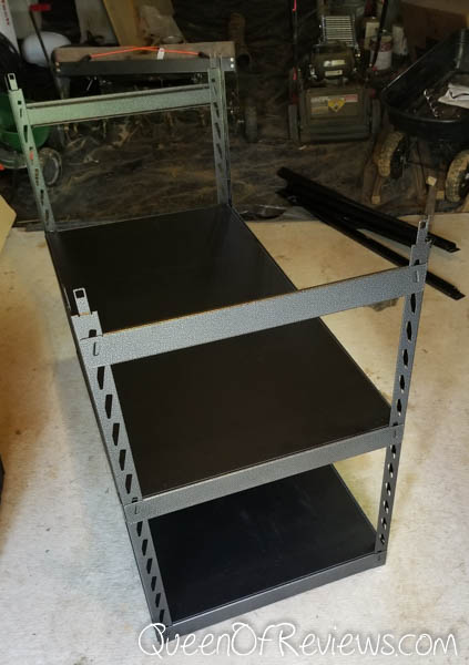 Gladiator EZ Connect Shelving Assembly 1