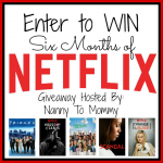 Six Months of Netflix Giveaway