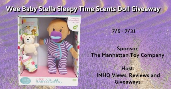 Wee Baby Stella Sleepy Time Scents Doll Giveaway
