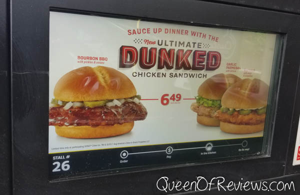 SONIC Ultimate Dunked Chicken Sandwiches