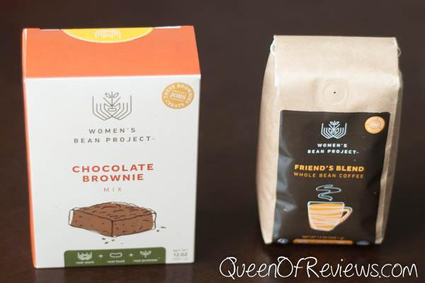Womens Bean Project Coffee & Brownies