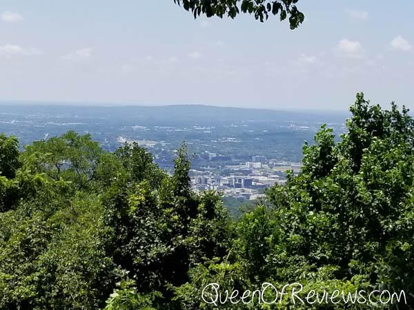 Burritt on the Mountain looking over Huntsville
