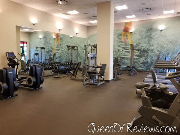 Element Huntsville Fitness Room