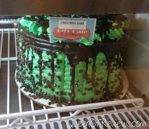 City Cafe Diner Chocolate Mint Cake