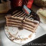 City Cafe Diner Milky Way cake