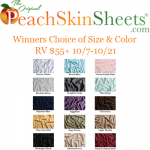 Order a New Set of PeachSkinSheets for Halloween and Avoid those Scary Wrinkles and Sleep like a Mummy! + Giveaway