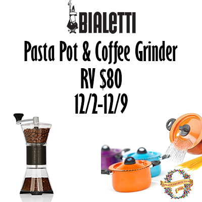 Bialetti Holiday 2017 Giveaway – Ends 12/9/17