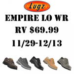 Lugz Empire LO WR Boot for the Men on Your Shopping List + Giveaway