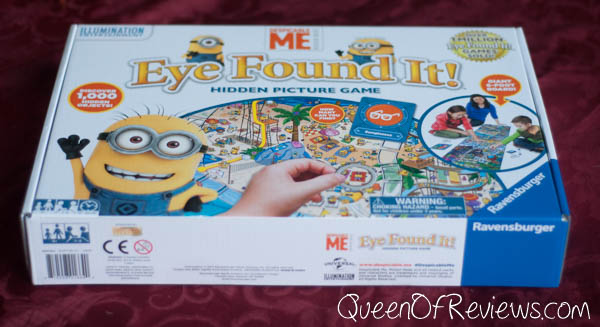 Eye Found It Despicable Me