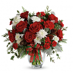 Teleflora's Holiday Shine Bouquet