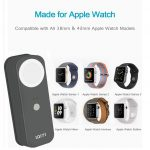 IQIYI [MFi Certified] Apple Watch Charger, Portable Charger/Power Bank/2 in 1 Charging Dock Station for Apple Watch and iPhone