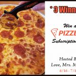3 Winner Pizza Subscription Box Giveaway!