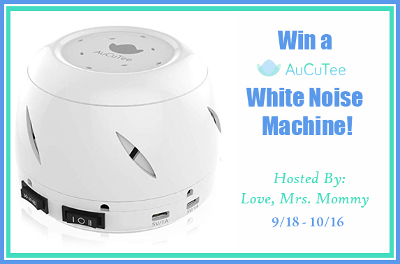 Sleep Soundly with AuCuTee's White Noise Machine Giveaway!