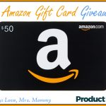 $50 Amazon Gift Card Giveaway! Open to Worldwide Entries!