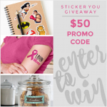 $50 Gift Card to Sticker You