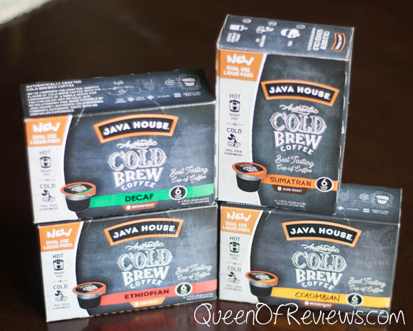 Java House Cold Brew Pods