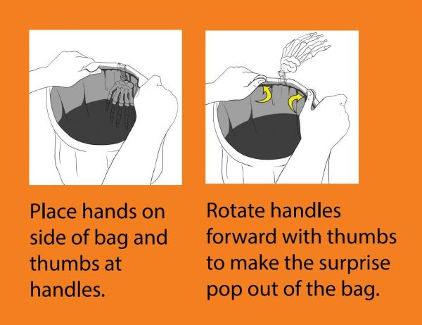 Halloween Grab Bag Instructions