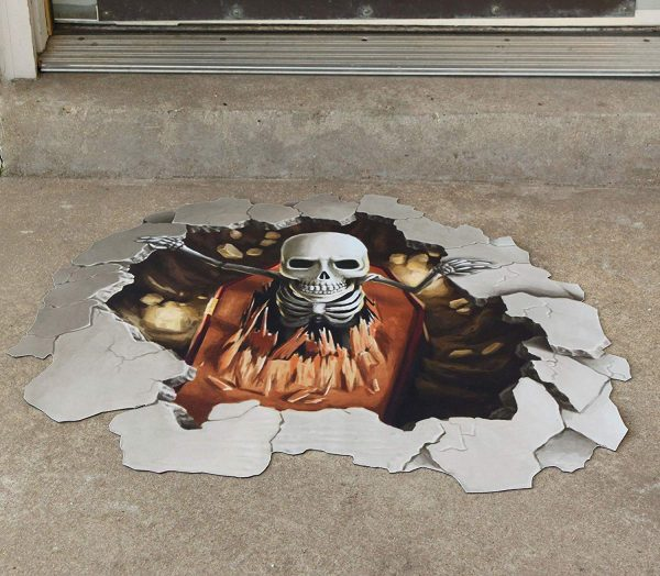 Skeleton Floor Mat