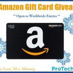 $50 Amazon Gift Card Giveaway – Open Worldwide