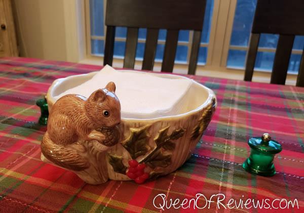 Cracker Barrel Squirrel Serving Bowl